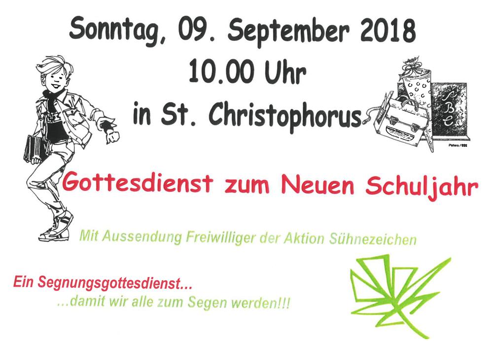 Sonntags-Gottesdienst @ St. Christophorus | Berlin | Berlin | Deutschland