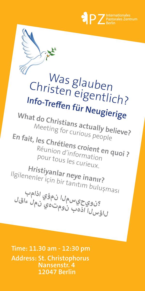 Was glauben Christen eigentlich? @ St. Christophorus | Berlin | Berlin | Deutschland