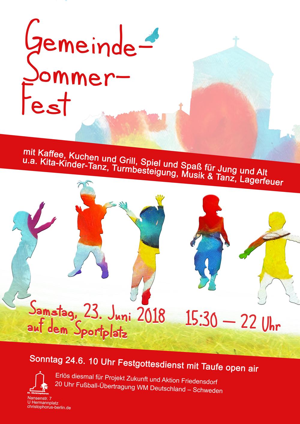 Gemeinde-Sommerfest @ St. Christophorus | Berlin | Berlin | Deutschland