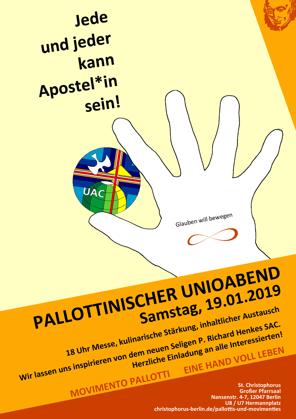 Pallottinischer Unioabend @ St. Christophorus | Berlin | Berlin | Deutschland