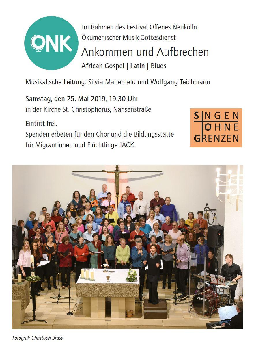 Ökumenischer Musik-Gottesdienst @ St. Christophorus | Berlin | Berlin | Deutschland