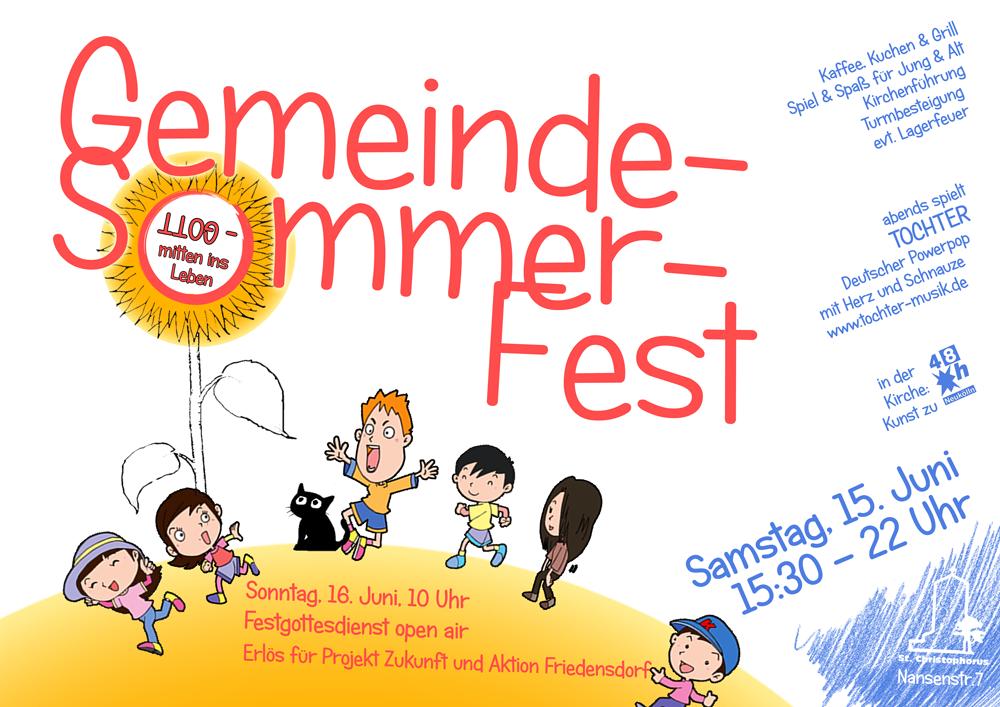 Gemeinde-Sommer-Fest @ St. Christophorus | Berlin | Berlin | Deutschland
