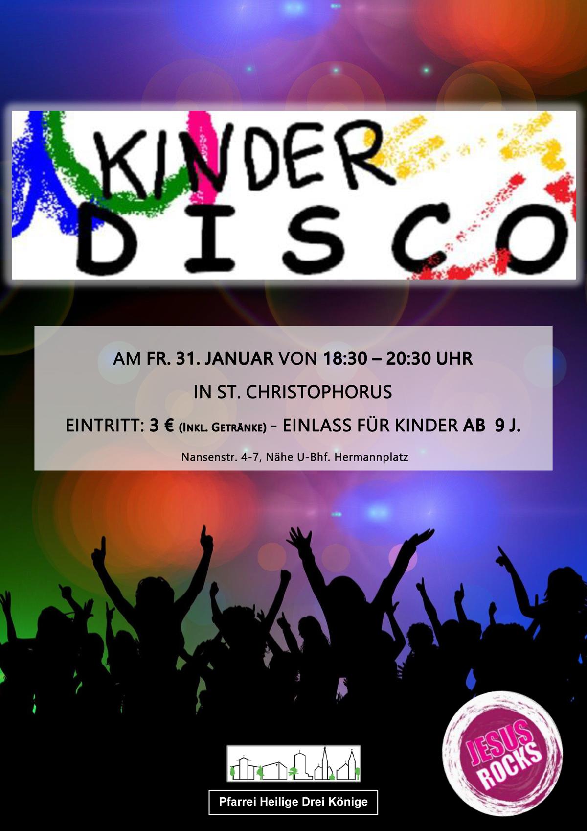 Kinderdisco @ St. Christophorus   Berlin   Berlin   Deutschland
