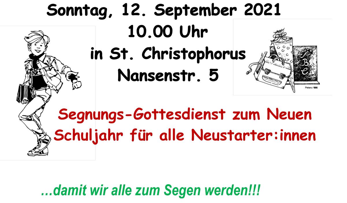 Sonntags-Gottesdienst @ St. Christophorus   Berlin   Berlin   Deutschland
